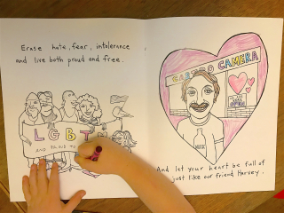Wave A Flag For Harvey Milk: Sing-along coloring book (w/ Mr. Greg ...